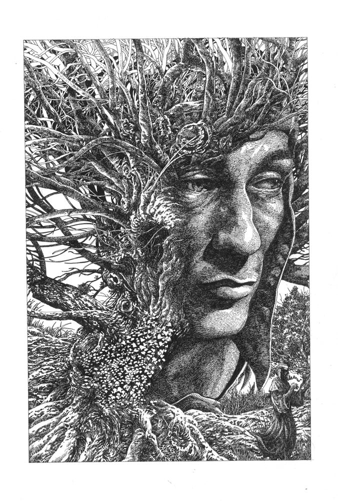 Image of DANTE TREE Original Art Kayanan