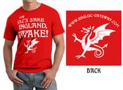 Image of ENGLAND AWAKE TS Red