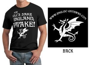Image of ENGLAND AWAKE TS Black