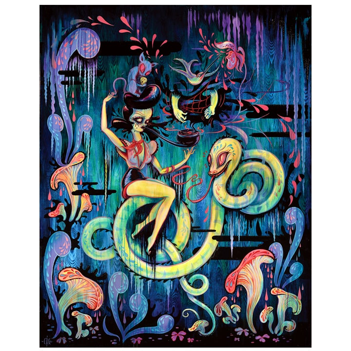 "Image of ""Hello, Orpheus"" Limited Edition Print"