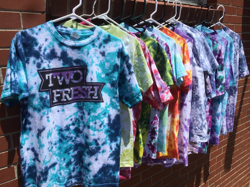 Image of Flag Tee - Tie Dye *LIMITED*