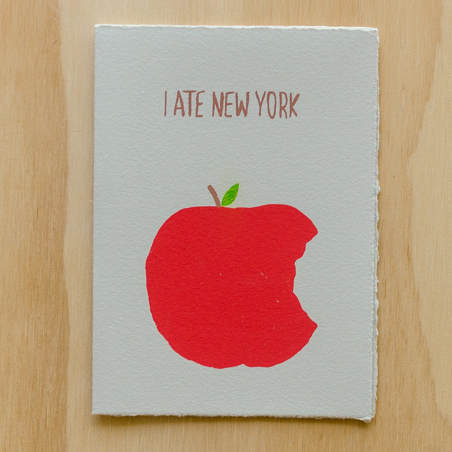 Image of I Ate New York