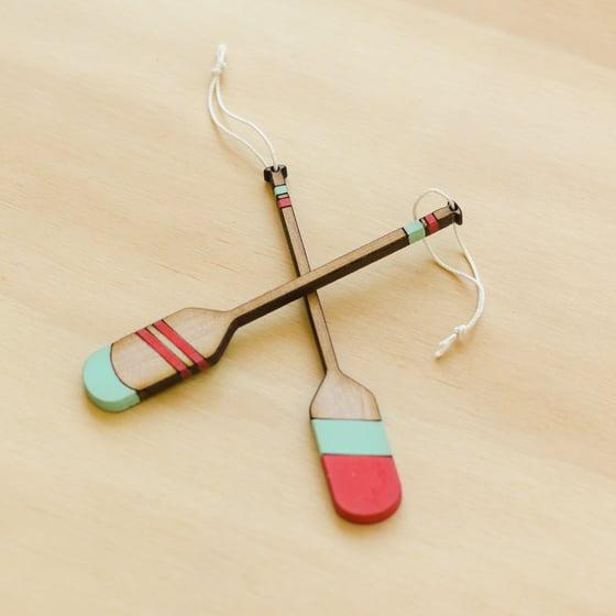 Image of Mini Oar Ornaments