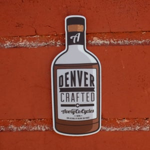 Image of Rye Whiskey Sticker