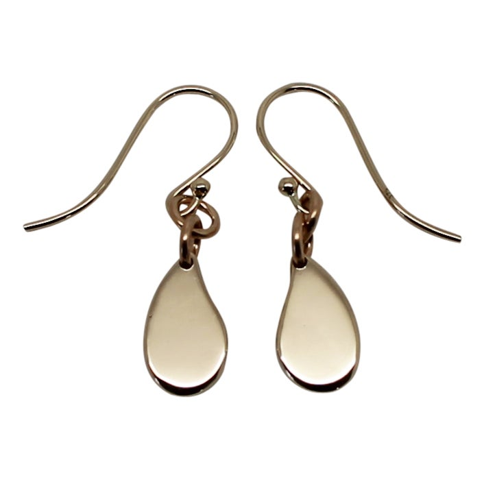"Image of ""Little"" Drop 9K Gold Earrings"