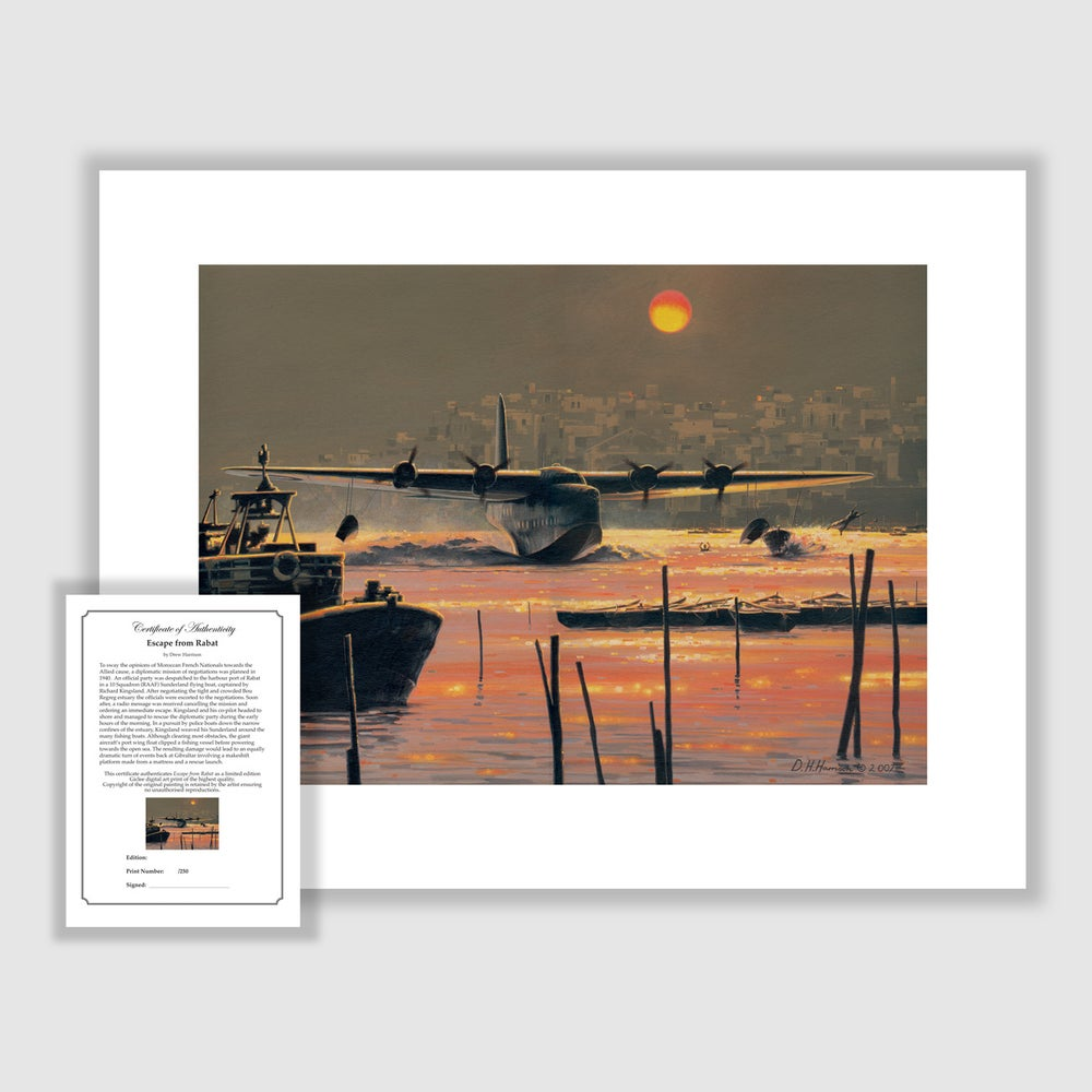 Image of Escape from Rabat Print