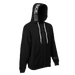 Image of 'HANDS UP'  [ZIP HOODIE // UNISEX] BLK