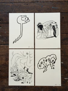 Image of Horfee & R. Maurice print set #2