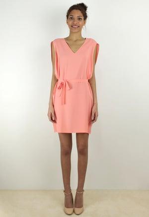 Image of SALMON DRESS