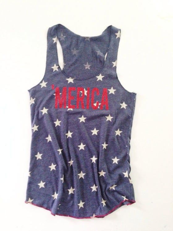 Image of 'Merica Tank Top