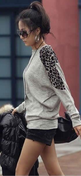 Image of Lightweight Cheetah Long Sleeve