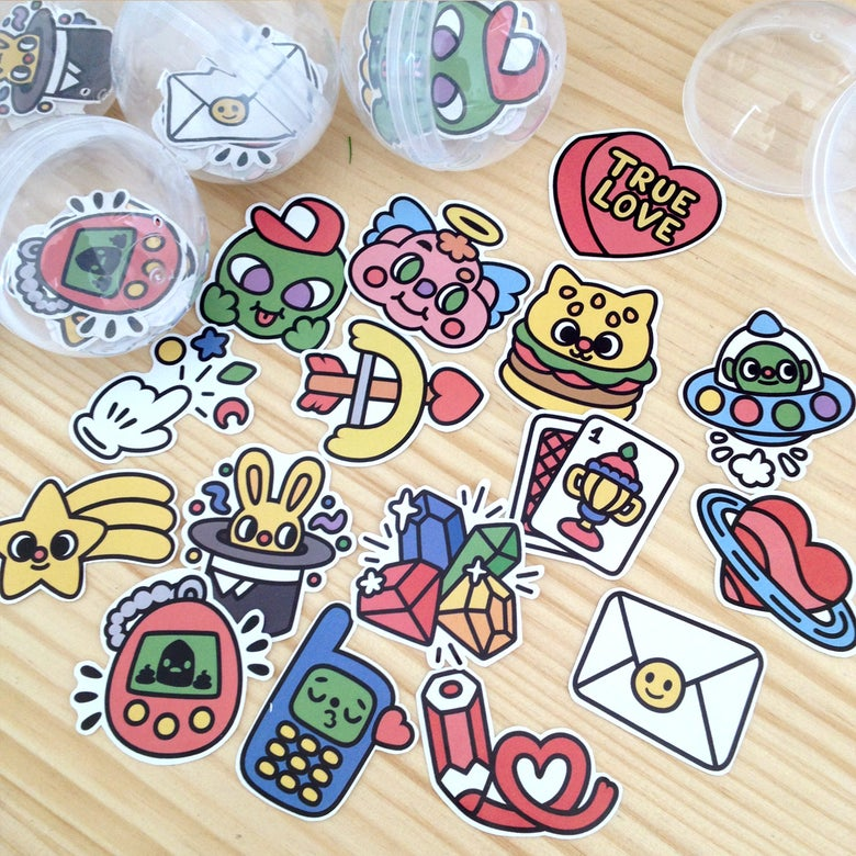 Image of Stickers Pack #1