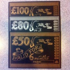 Image of £100 FST Gift Voucher