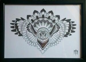 Image of Owl Print