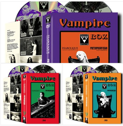 Image of VAMPIRE BOX Diabolique + Metamorfosia 2-DVD HARDBOX