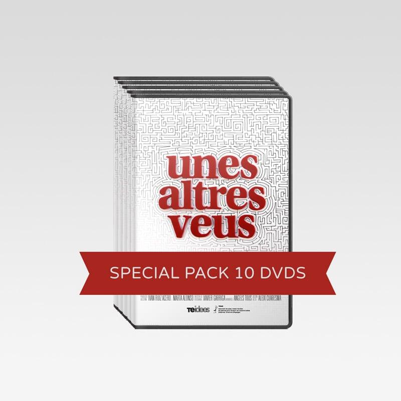 Image of Pack 10 DVDs <br>«Unes altres veus»