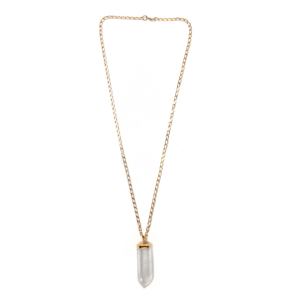 Image of Quartz Point Necklace