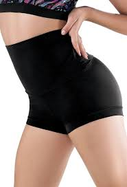 Image of High Waisted Spandex Shorts