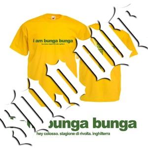 Image of HEY COLOSSUS 'I Am Bunga Bunga' T-Shirt