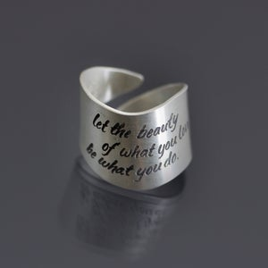 Image of Sterling Silver Rumi Ring