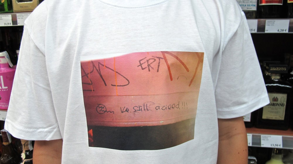 Image of CAMISETA ERT WE STILL ACIIIIIED SONAR 2014 EDITION