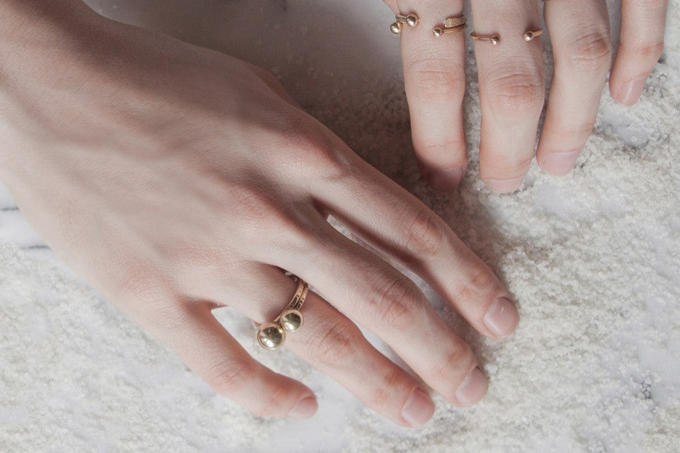 Image of SAMPLE SALE - small pearl ring