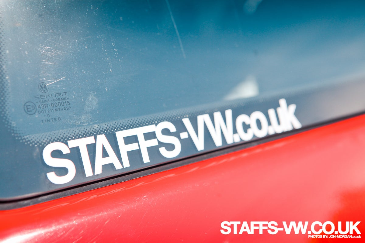 Image of Staffs-VW Web Address Sticker