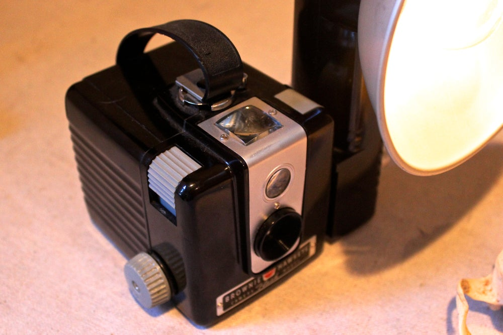 Kodak Brownie Lamp Stonehill Design