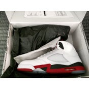 "Image of Jordan 5 ""Fire Red"" Size 12 Brand New In Box ships in 2 days"
