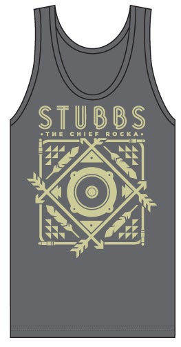 Image of Stubbs The Chief Rocka Tank