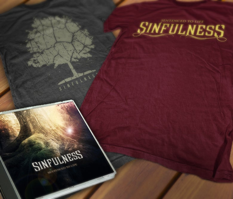 Image of STL album + shirt PACK