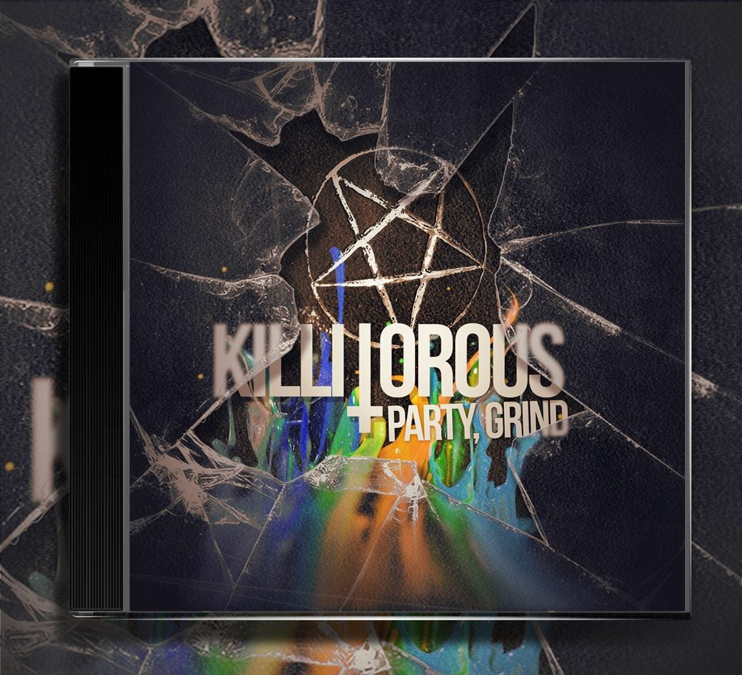 """Image of LIMITED EDITION - """"PARTY GRIND"""" - CD"""