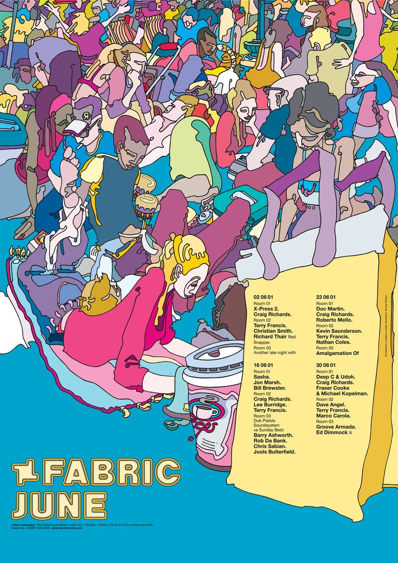 Image of Fabric June 2001
