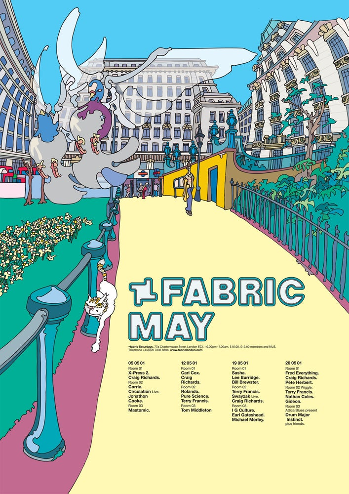 Image of Fabric May 2001