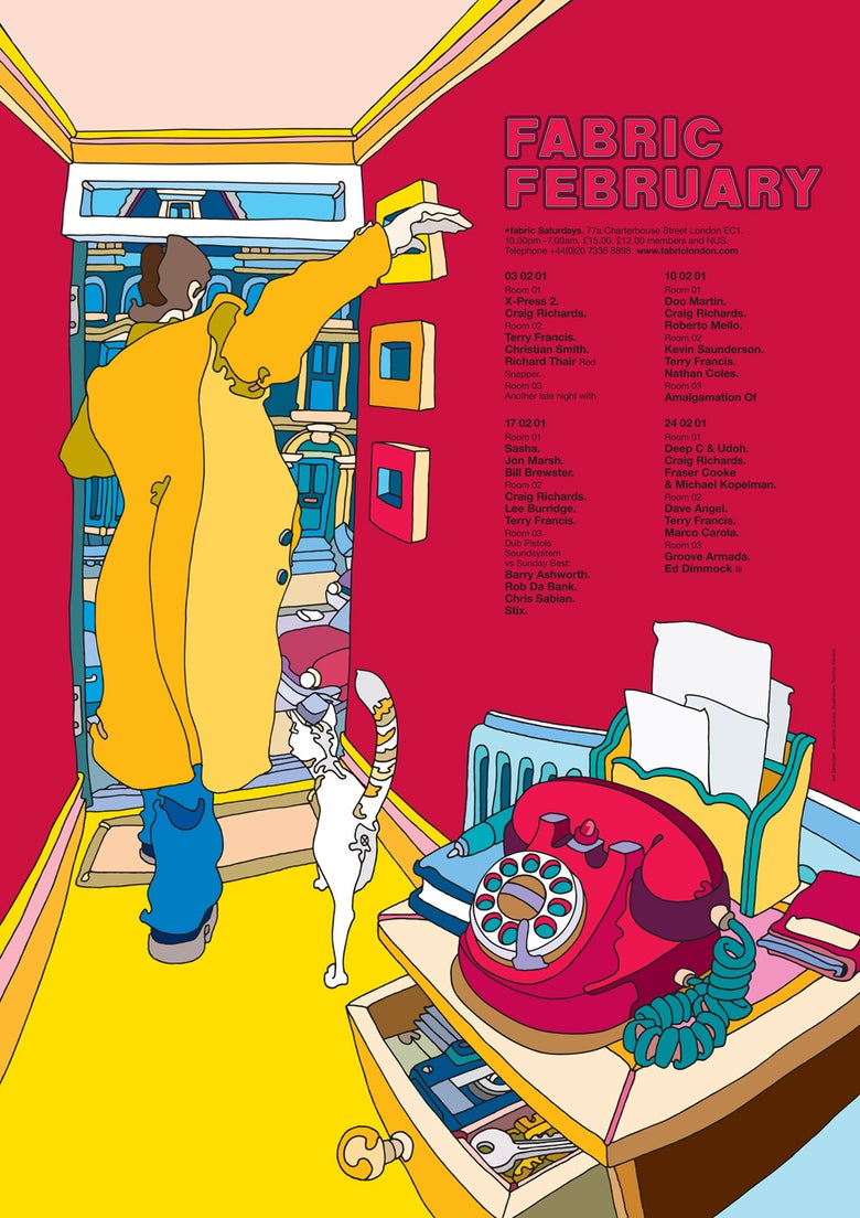 Image of Fabric February 2001