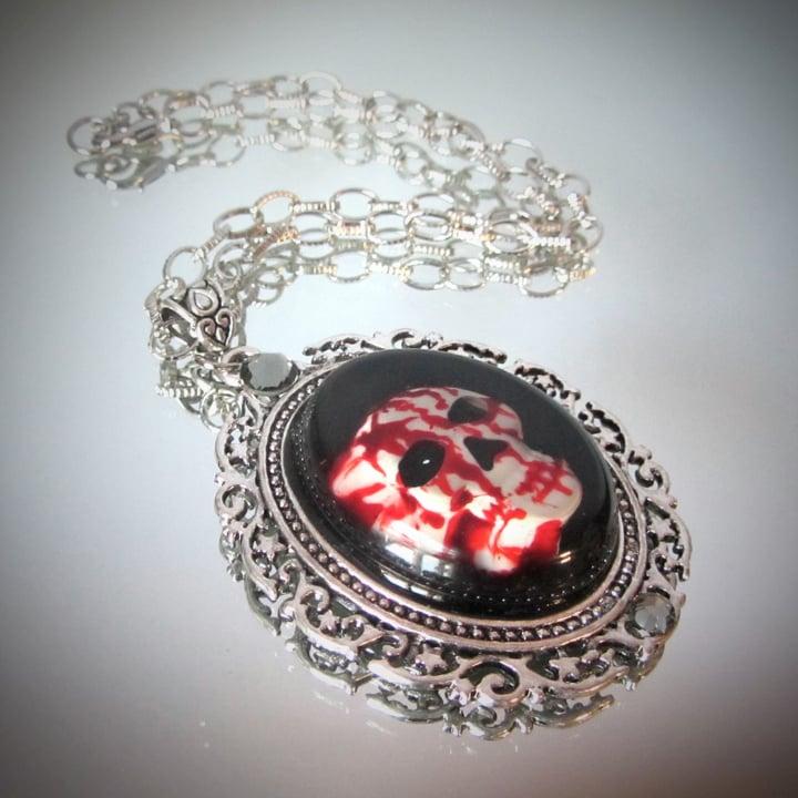 Bloody Skull Pendant