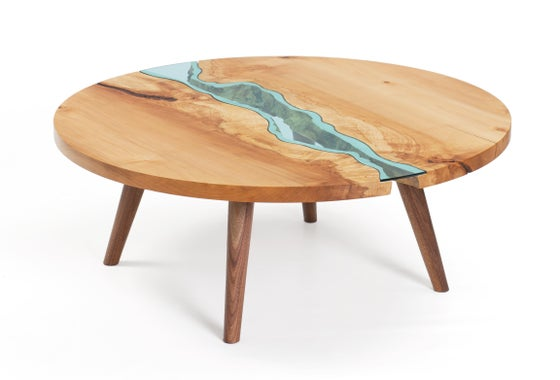 Image of round river® coffee table
