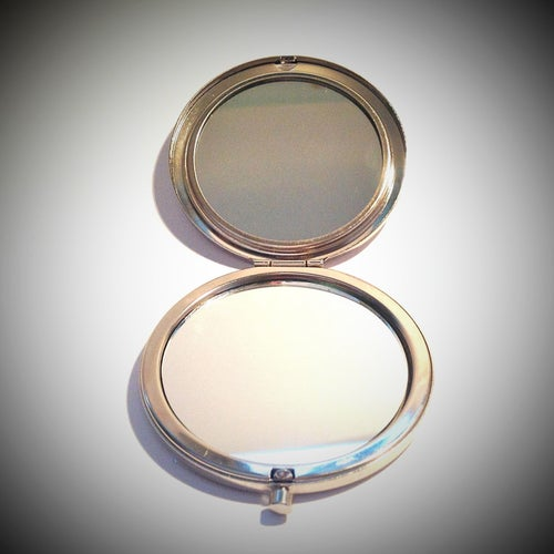 Image of Enchanted Garden Compact Mirror