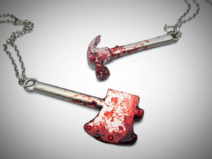 Bloody Weapons Necklace