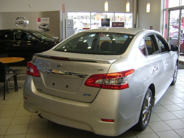 (B17) 2013+ Sentra Rear Trunk SR spoiler / Sentra Nation Store