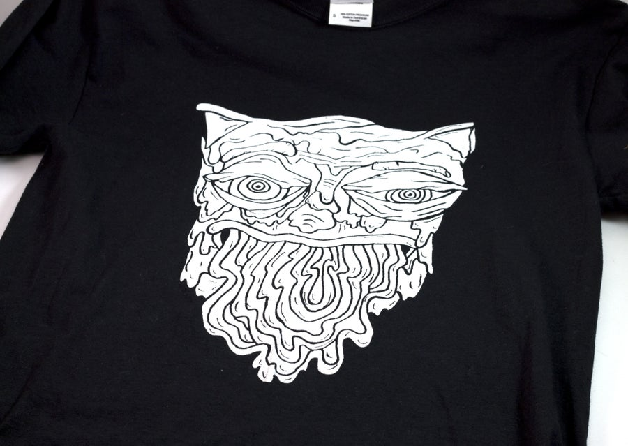 Image of White Vomit Cat Shirt