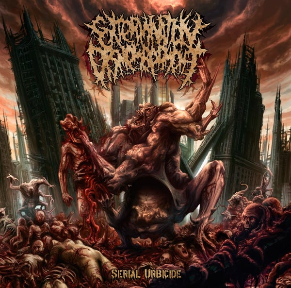 Image of EXTERMINATION DISMEMBERMENT - Serial Urbicide CD /DigiPackCD