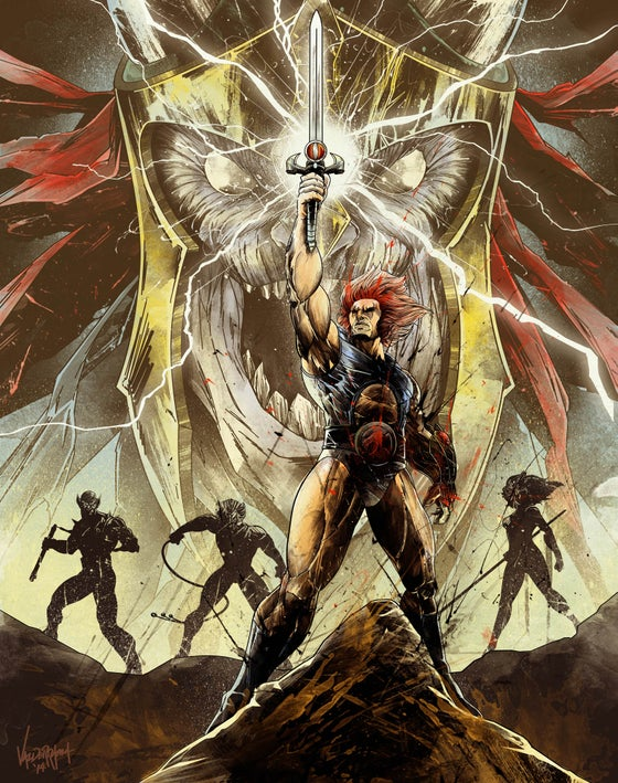 "Image of ""Lords of Third Earth"" - Inspired by Thundercats"