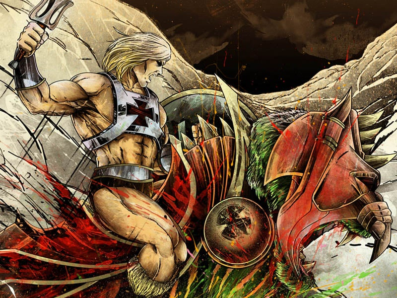 """Image of """"Battle of GraySkull"""" - Inspired by Masters of the Universe"""