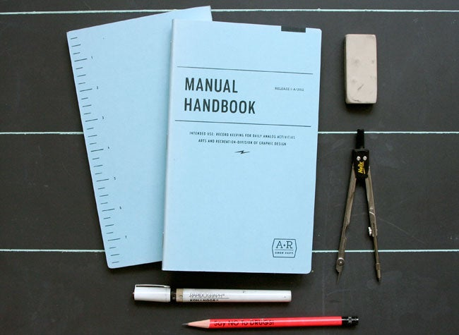 Image of MANUAL HANDBOOK - SKETCHBOOK