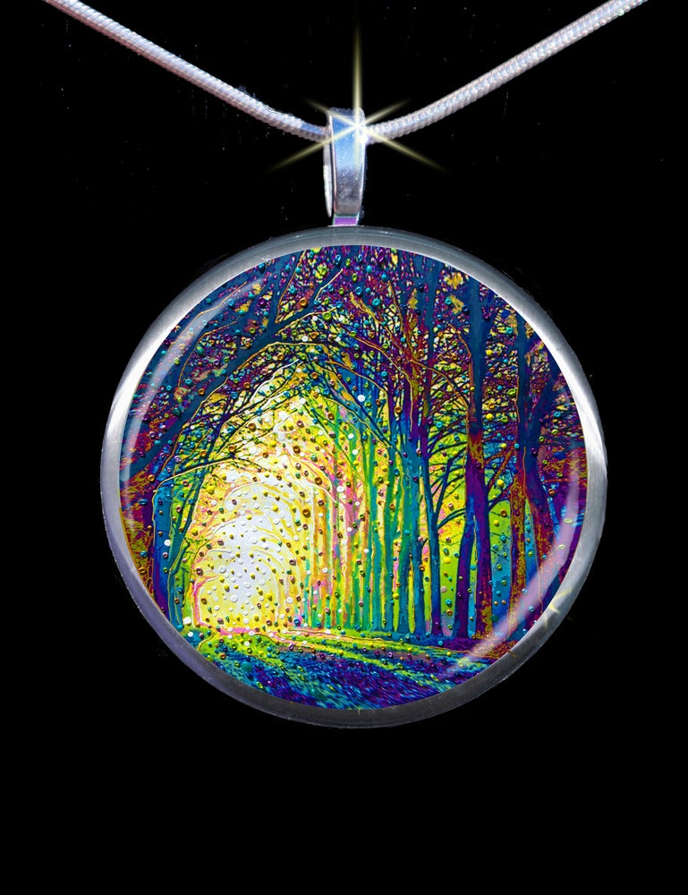 Image of Cathedral Of Light - Divine Revelations Pendant