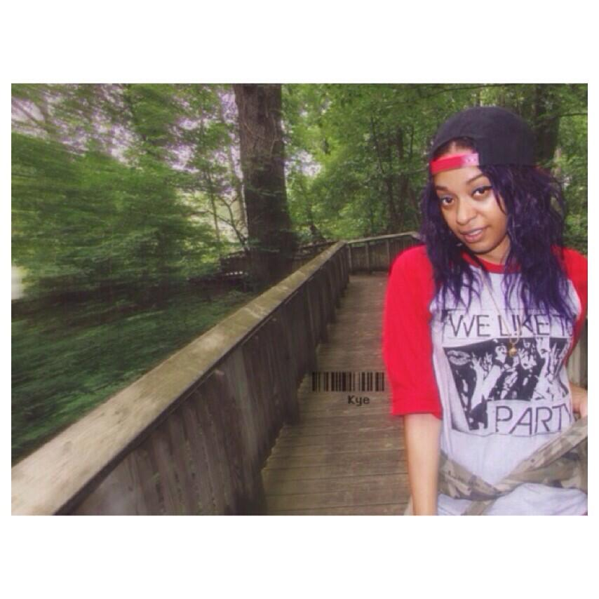 Image of #WeLiketoParty Baseball Tee Red/Grey