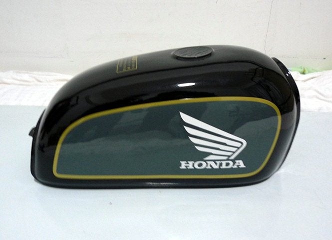 Image of Cafe Racer Honda Benly 50S Fuel Tank/ Gas Tank 50S Series 01