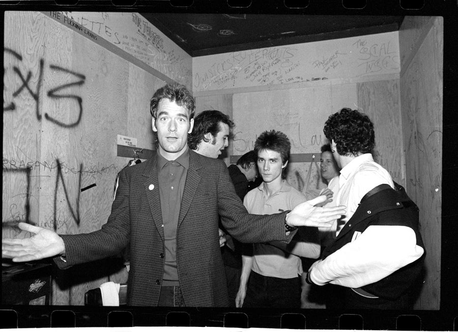 Image of Huey Lewis & The News: The Whiskey 1980