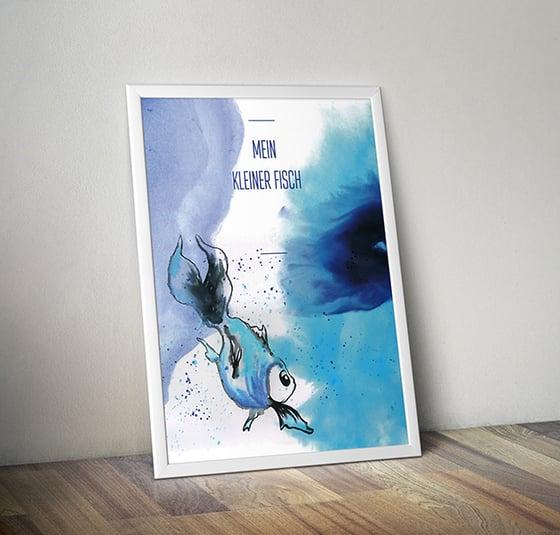 Image of Poster - Mein kleiner Fisch